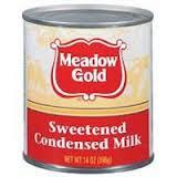 Meadow Gold Sweetened Condensed Milk ( Full Cream) - in Tin