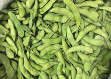 2016 new spring crop vegetable Chinese Frozen Green Soybean, IQF Edamame