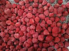 фрукты нового урожая замороженные IQF клубника сладкие Чарли целые, ломтики, кубики