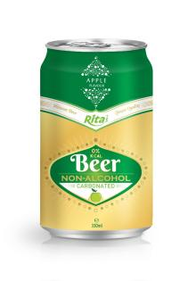 330ml Apple Flavour Carbonated Non-alcoholic Beer