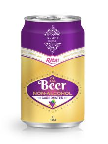 330ml Grapeberry Flavour Carbonated Non-alcoholic Beer
