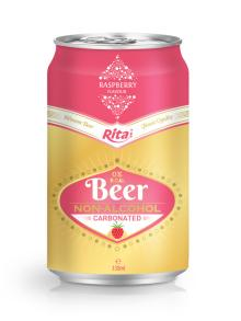 330ml Raspberry Flavour Carbonated Non-alcoholic Beer