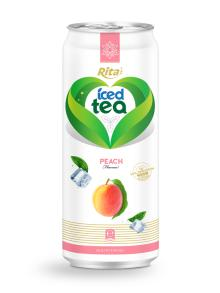 Peach Flavor Iced Tea Drink