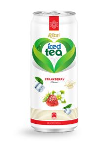 Strawberry Flavor Iced Tea Drink
