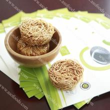 Organic non-fried soybean instant noodle
