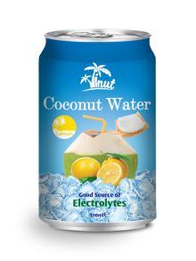 330ml Lemon Coconut Water