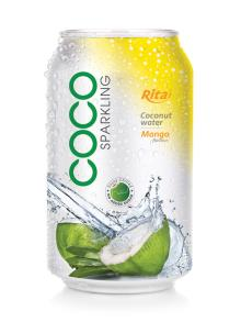 330ml Mango flavor Sparkling Coconut Water