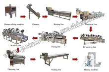 Full-automatic Banana Chips Production Line