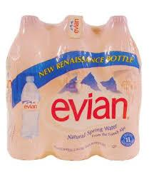 Top Quality Evia Natural Mineral Water Available in Bulk
