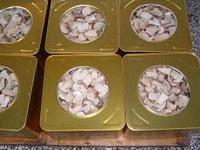 Canned matsutake mushroom.