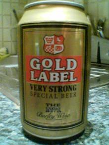 Gold Label Can 440ml