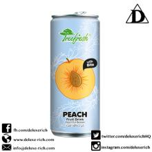 Peach Fruit Drink With Bits