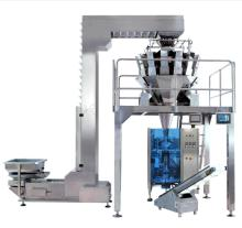 vertical form fill seal machine with multihead weigher