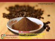Powder  pure   instant   coffee  with 100% roasted  coffee  beans