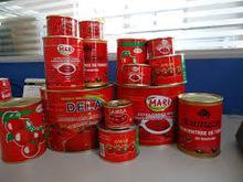 Quality Tinned Tomato Paste 70g/198g/210g/400g/800g/2.2kg