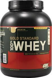 100% Gold Standard Optimum Nutrition Whey Protein in Different Flavours