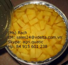 Copy of VIETNAM CANNED PINEAPPLE