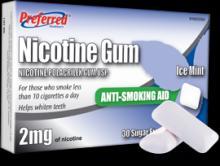 Nicotine Gums (Nicotine Chewing Gum)