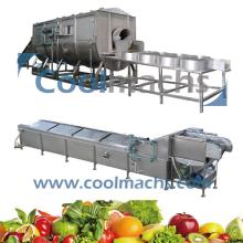 Blancher for Vegetables and Shimp Processing Line Equipment