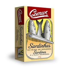 Sardines in Vegetable Oil 120gr