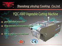 YQC-1000 YQC-QJ660A multifunction vegetable cutting machine