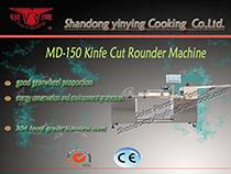 MD150 knife cut steamed bread machine
