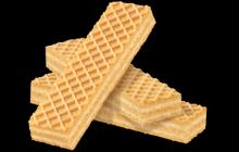 Wafer biscuits butter milk flavor