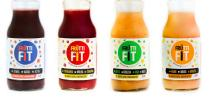 100% natural Smoothie FruttiFit blue - hole friuts, suger-free! Plum, blackberries & blueberries