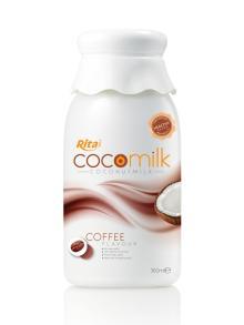 360ml PP bottle Coffee flavor Coconut Milk 2