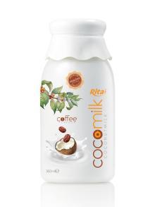 360ml PP bottle Coffee flavor Coconut Milk 3