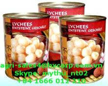 Canned Lychees in Syrup