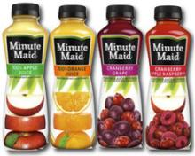 Minute Maid orange juice /Minute Maid Pulpy Orange Pet 350ml x 12 pcs