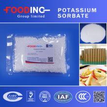 high quality food grade preservative potassium sorbate /sorbic acid potassium salt