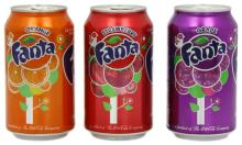 Fanta Orange Soft Drinks 330ml can / Canned Drink / Soft Drink Canned