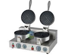 110V / 220v Electric double-end Belgium waffle maker machine heart shape waffle baker