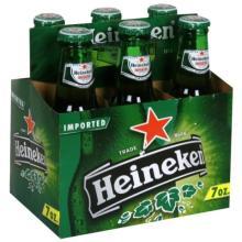 Heinekens brewed beers originally from holland