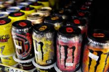 Red Bull, Monster,Shark and other energy drinks