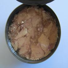 Canned tuna skipjack in vegetable oil