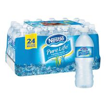 Nestle Pure Life Bottled Purified Water, 16.9 oz. Bottles, 24/pack