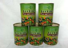 canned peas & carrot & potato