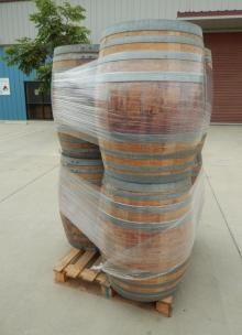 Used Oak Barrels 225 L