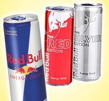 Red Bull, Monster,Shark and other energy drinks