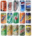 soft drinks, coca-cola, pepsi, sprite, fanta, 7up soft drinks