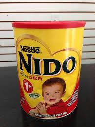 Nido/Nestle Milk Powder for Sale ( Text in Arabic Language)