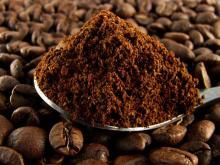 Ground coffee coffee beans