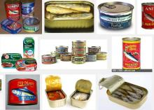CannedTuna,Canned Sardine,Canned Mackerel