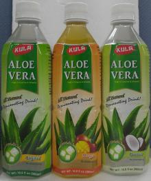 Copy of Aloe Vera Natural Juice with Pulp in PET Bottle