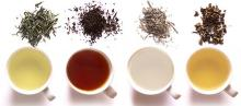 Black tea, Green tea, Oloong tea