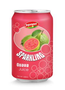 Sparkling guava juice in Aluminium can 330ml