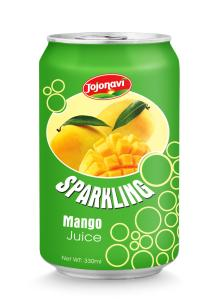 Wholesale sparkling water sparkling mango juice 330ml